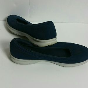 Skechers memory foam Size 10 Blue Walking Shoes